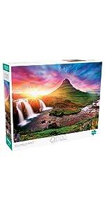 Iceland Sunset - 1500 Piece Jigsaw Puzzle