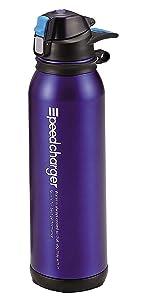 パール金属 水筒 1100ml 直飲み ステンレス ダイレクト ボトル オークブルー スピードチャージャー H-6832