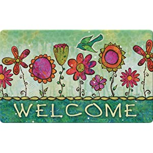 welcome;spring;springtime;summer;seasonal;colorful;multicolor;artistic;flower;floral;bird;flying