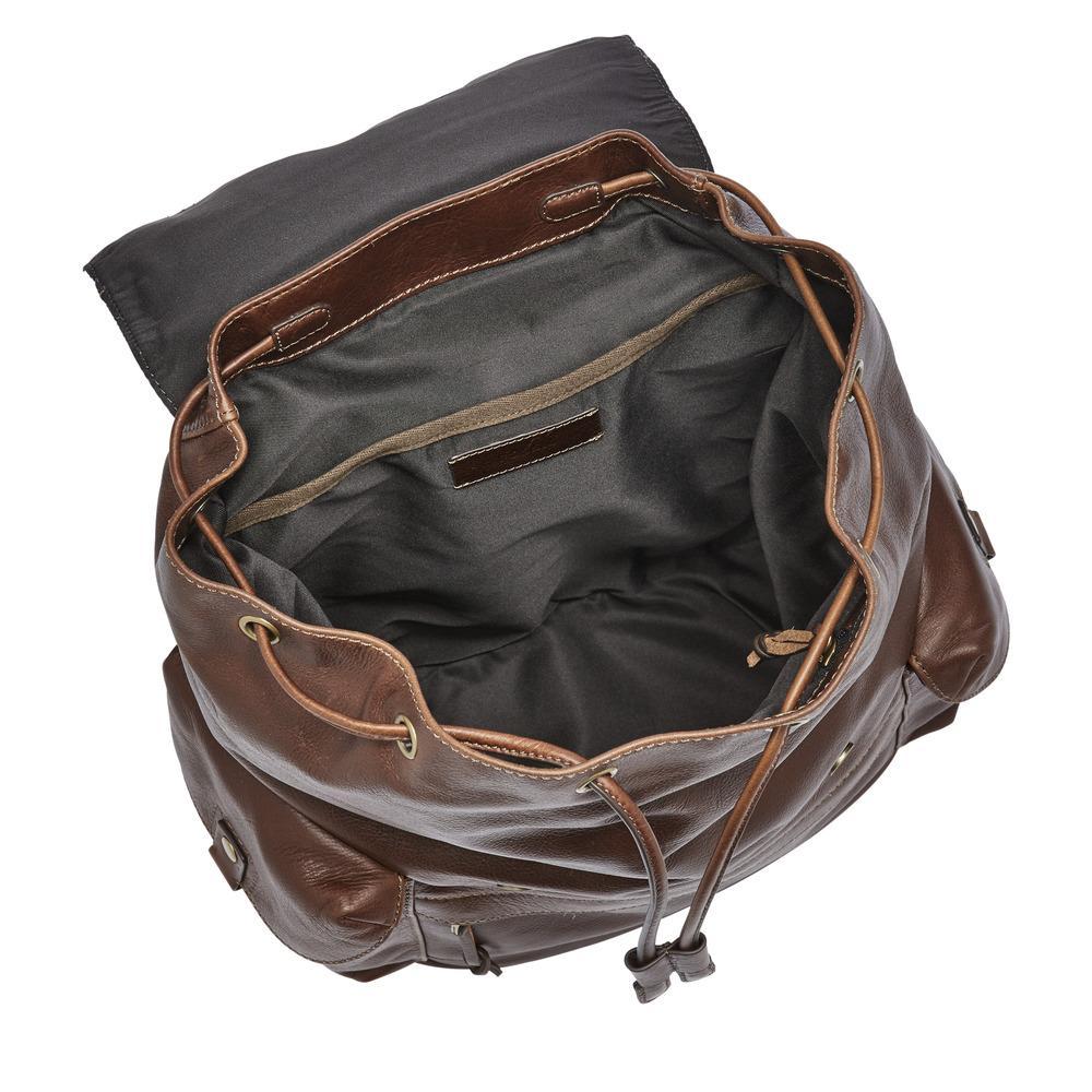 Amazon.com: FOSSIL Men's Defender Rucksack, Smoke Grey: Shoes