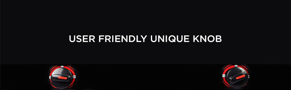 User Friendly Knobes