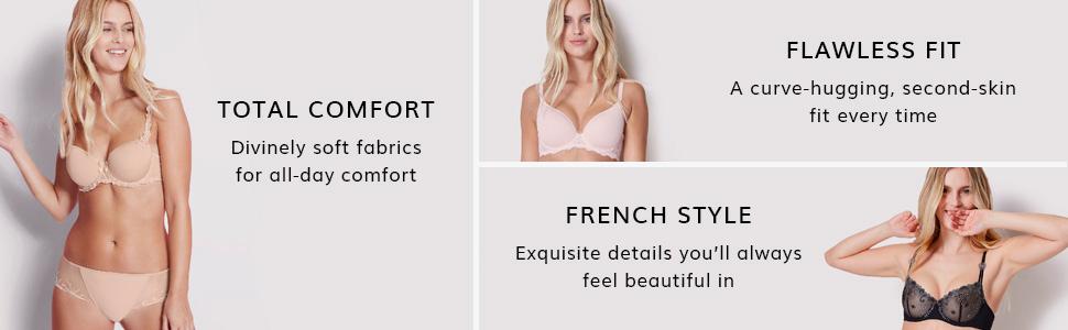 Simone Perele, Simone Perele panties, Comfort, fit, french lingerie, bikini, tanga, boyshort