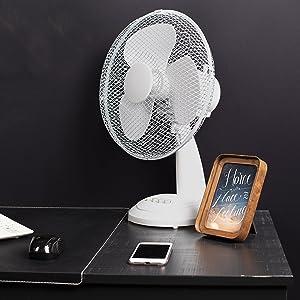 Ventilador de mesa Tristar VE-5930 – 30 centímetros – Oscilante ...