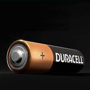 Duracell alkaline batteries, AA, AAA, C, D, 9V