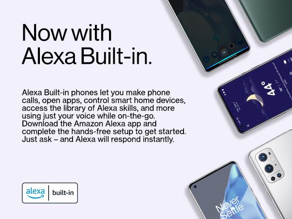 Now with Alexa