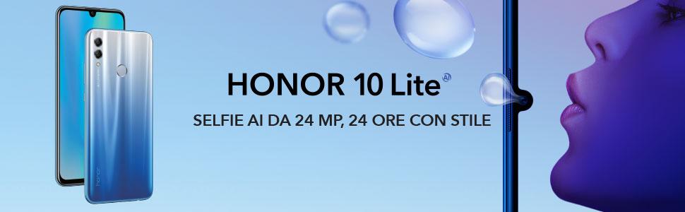 Honor 10 Lite 24h con stile