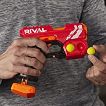 nerf rival gun; knockout xx-100; nerf rival knockout; blaster; rounds; bullets; ammo