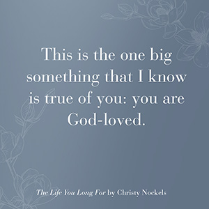 The Life You Long For, Christy Nockels