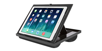 ergo, ergonomic, ergo pro, lap desk, lapgear, laptop, phone slot, device ledge, stylus slot, mouse