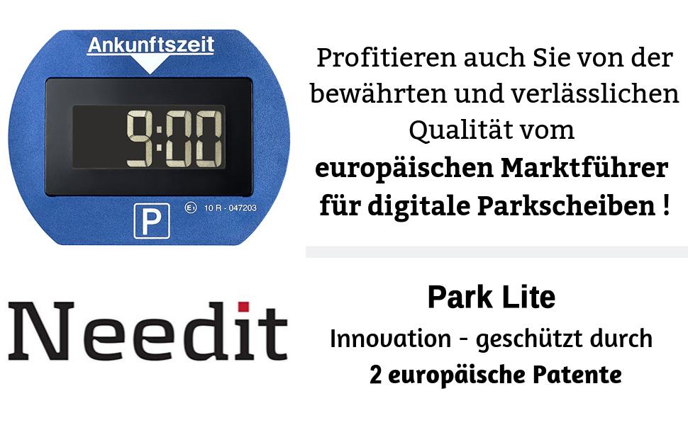 Europäischer Marktführer Parkscheiben