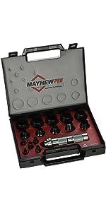 MayhewPro 66000 Hollow Punch Set