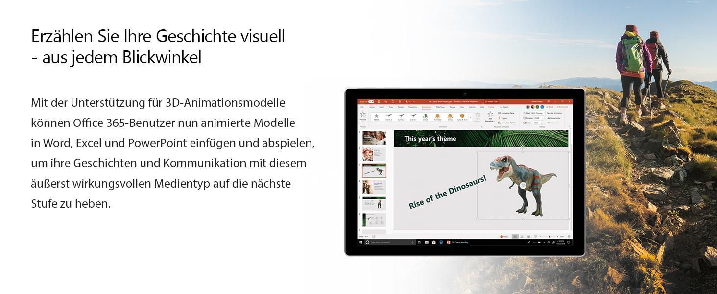 Microsoft Office 365 Personal Multilingual 1 Nutzer Mehrere Pcs