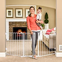 metal expandable baby gate