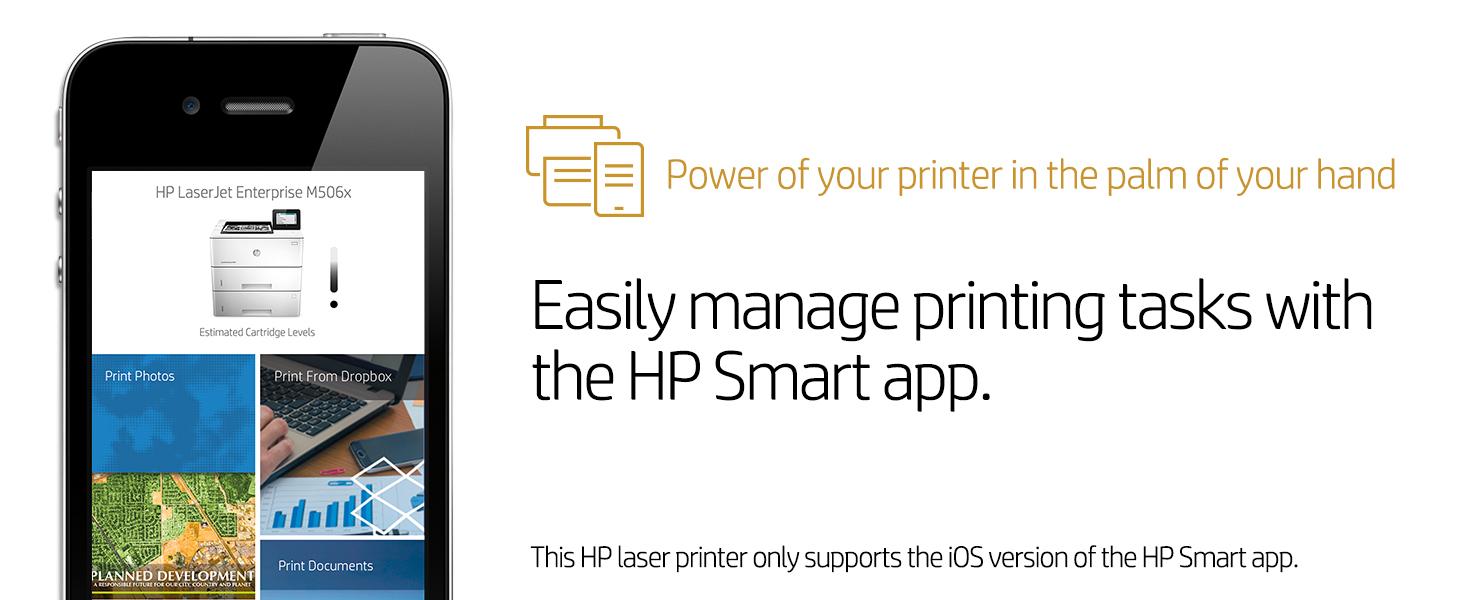 laserjet enterprise m506x printer pdf