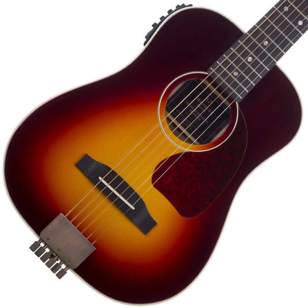 traveler guitar 6 string ag 450eq acoustic electric with gig bag sunburst right. Black Bedroom Furniture Sets. Home Design Ideas
