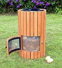 Amazon Com Merry Garden Wooden Potato Planter Natural