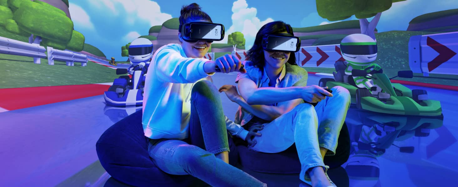 Game in VR with friends using multiplayer mode