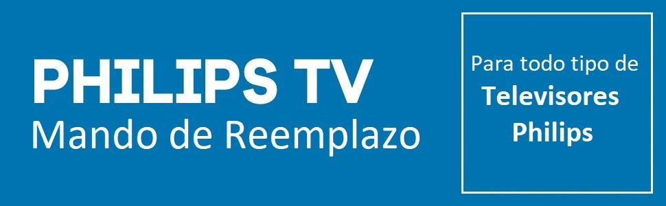 One For All - Mando De Remplazo Para Philips TV: ONE FOR ALL: Amazon.es: Electrónica
