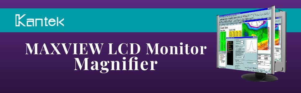 """Kantek 15/"""" Lcd Magnifier MAG15L"""