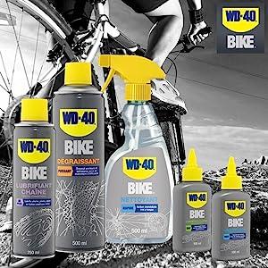 WD-40 Bike, entretenir velo, nettoyer velo, lubrifier velo, degraisser velo, lubrifiant chaine, WD40