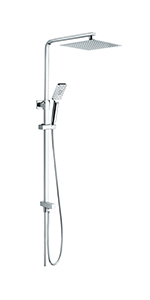 GRIFEMA Edithedge - Columna ducha sin grifo, sistema de ducha ...