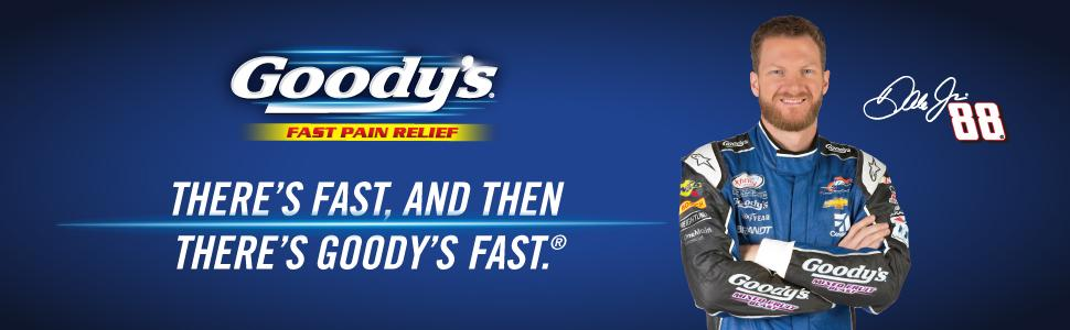Goody's Fast Pain Relief | There's Fast, and Then There's Goody's Fast