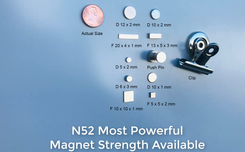 N52 Most Powerful Magnet Strength Available