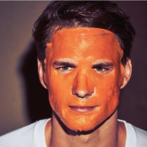Mascarilla, mascarilla facial, energía, refresca, cara, hombre, taurina, antifatiga