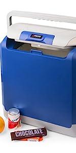 wagan tech cooler, 12v car cooler, electric cooler, iceless cooler