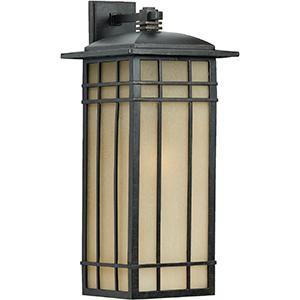 HC8407IB 1 Light Wall Hillcrest Outdoor Lantern in Imperial Bronze