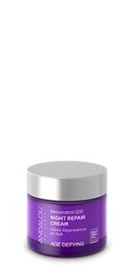 andalou naturals skin care, night repair cream