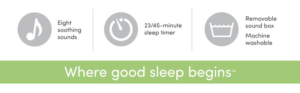 Cloud b Sleep Sheep Eight Soothing Sounds Sleep Timer Sound Box