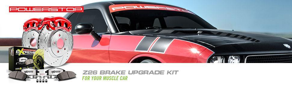 Z26 Brake kit, Z26 Street, Performance Brake Kit, Performance brakes, performance brake rotor