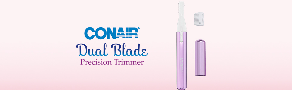 conair trimmer; conair personal shaver; hair trimmer; conair facial hair remover