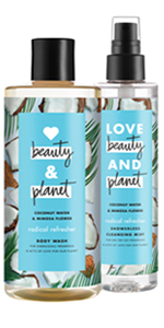 Love Beauty amp; Planet Radical Refresher Body Wash amp; Cleansing Mist