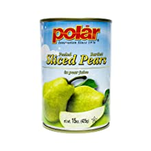 Polar Sliced Pears All Natural Juice Canned Fruit