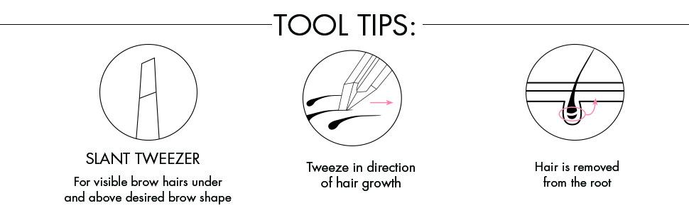 best slant tweezer, beauty tool, slant tweezer, brow tool