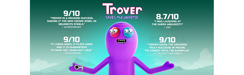 2086406a73db Trover Saves the Universe | Product US Amazon