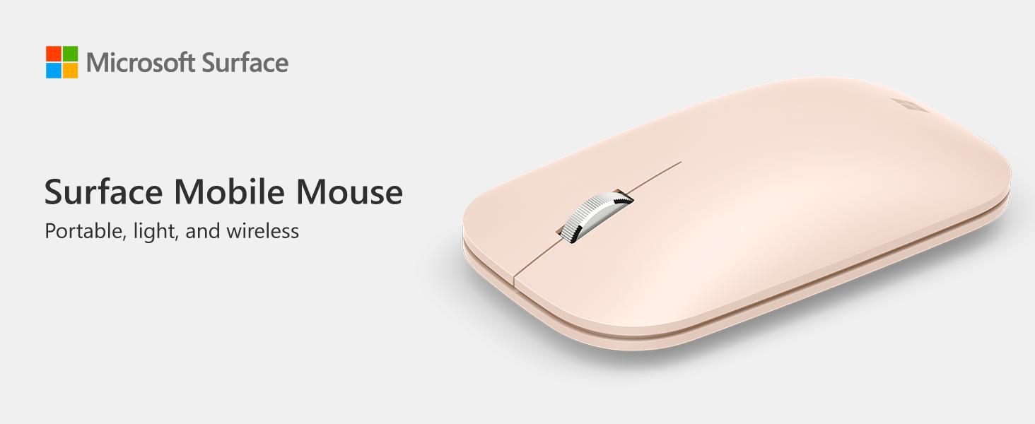 ماوس Surface Mobile - أحمر الخشخاش