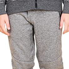 BROOKLYN ATHLETICS Boys Big Fleece Jogger Pants Active Zipper Pocket Sweatpants
