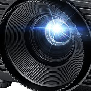 Optoma H116 Dlp Projektor Wxga 3800 Lumen 30 000 1 Kontrast 1x Hdmi 1x Vga 1x Composite Schwarz Heimkino Tv Video