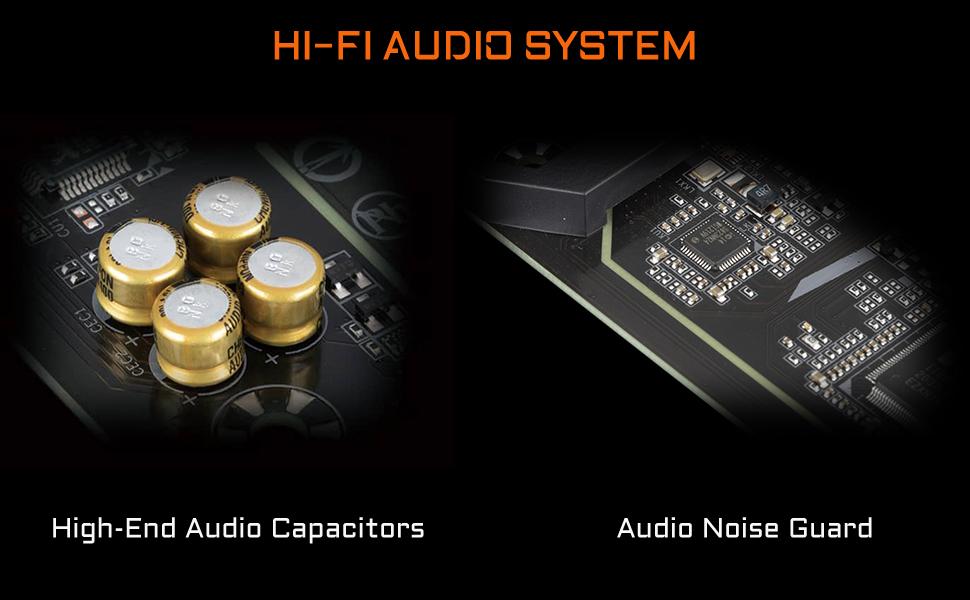 z590 audio system