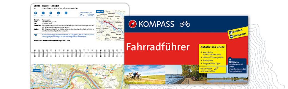 Fahrradführer, Radführer, Bikeline, Esterbauer, Kompass, Fahrradtour, Radtour, Radfahren, Tour