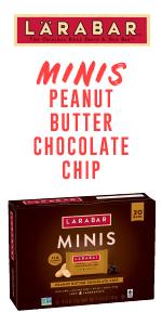 Larabar Peanut Butter Chocolate Chip Mini Bars