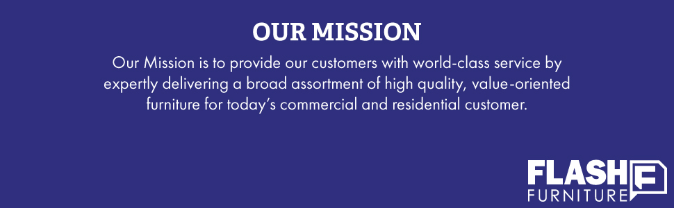 Our Mission at Flash Furniture