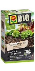 Concime biologico insalata pecora
