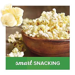 Orville Redenbacher's SmartPop fat free popcorn – great for a light snack