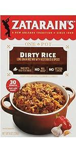Zatarain's Dirty Rice Dinner Mix, 8 oz