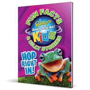 Hop Right In, Ripley's, Believe It or Not, nonfiction, facts, kids, children's