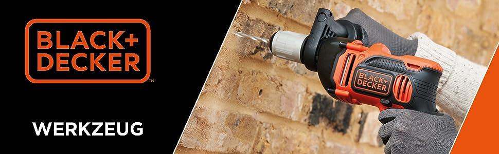 Black+Decker elverktyg och batteriverktyg